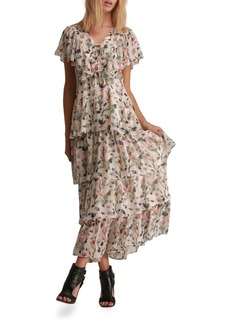 Walter Baker Sandra Floral-Print Ruffle Layered Dress