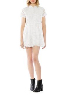 Walter Baker Sunny Cotton Shirt Dress