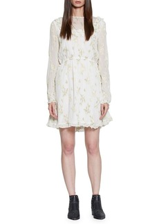 Walter Baker Tamisha Embroidered Lace Dress