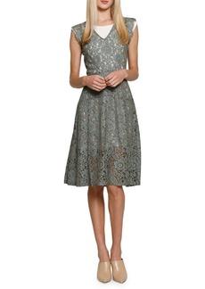 Walter Baker Vanya Lace Midi Dress