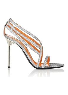 Walter De Silva Women's Glitter Strappy Sandals