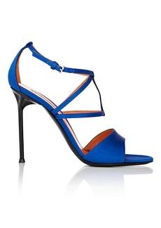 Walter De Silva Women's Luna Satin Crisscross-Strap Sandals
