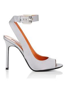 Walter De Silva Women's Mora Satin Ankle-Strap Sandals