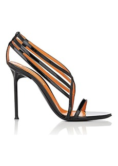 Walter De Silva Women's Patent Leather Strappy Sandals