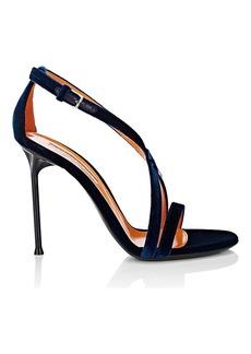 Walter De Silva Women's Sonia Velvet Sandals