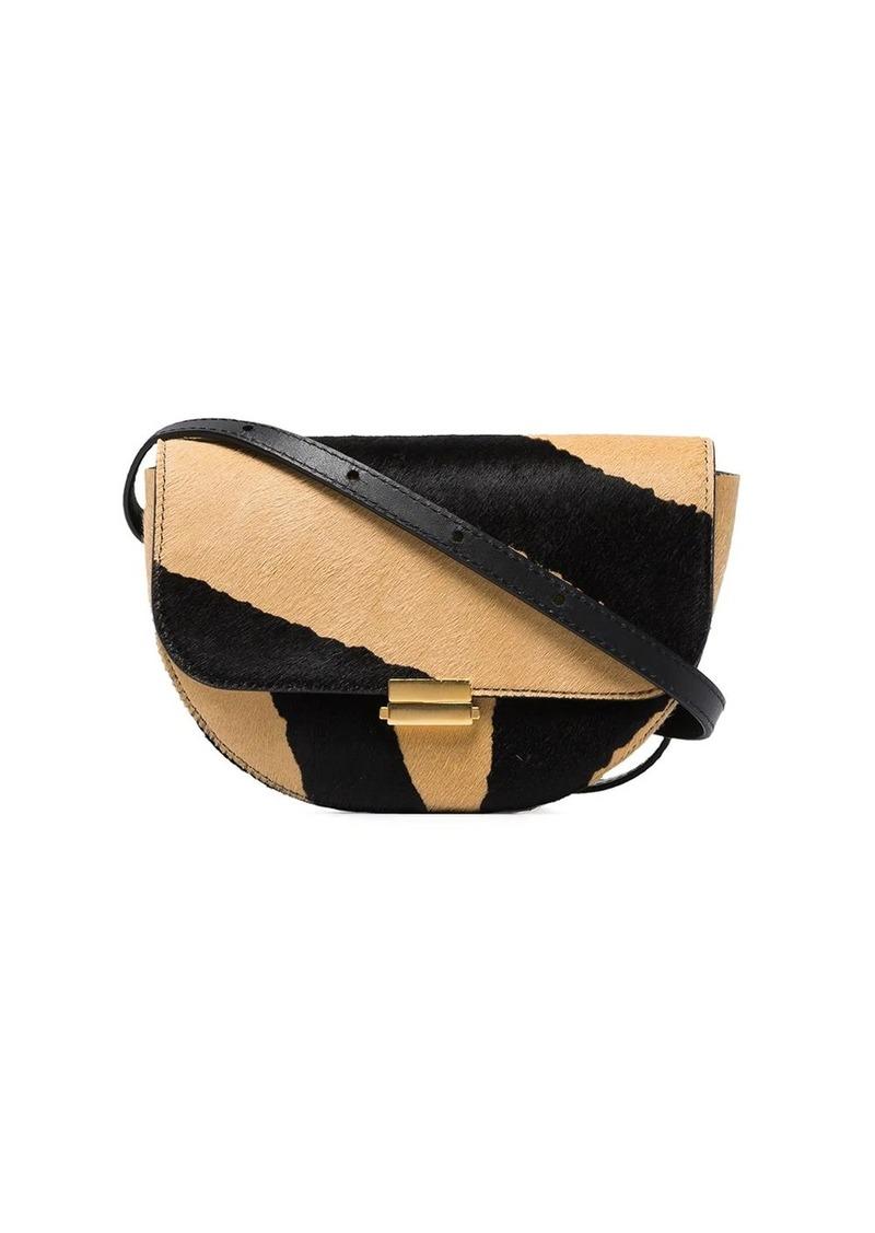 Wandler Anna zebra print belt bag
