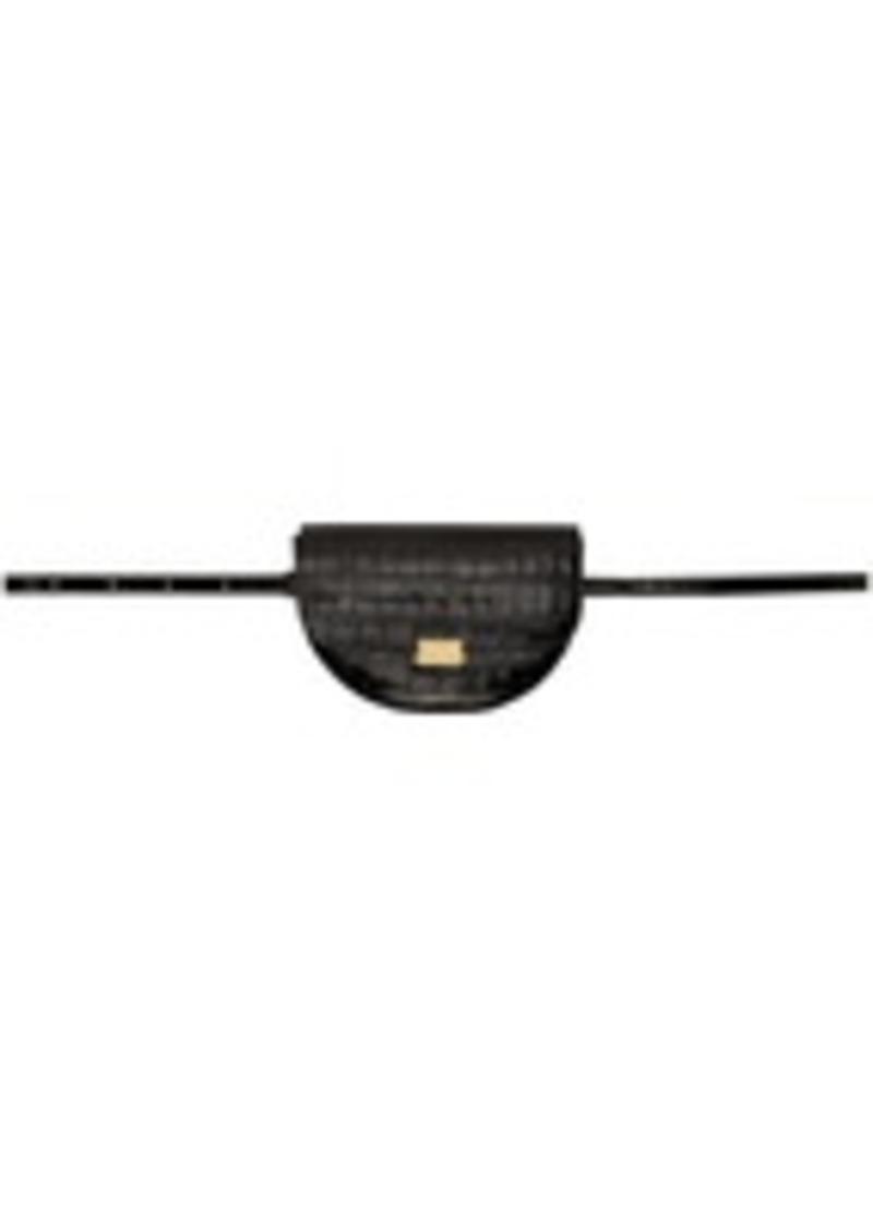 Wandler Black Croc Anna Belt Bag
