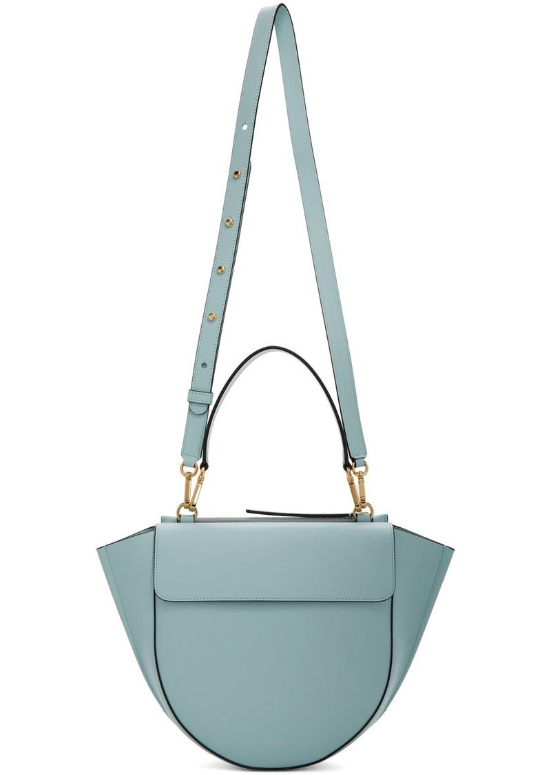 Wandler Blue Medium Hortensia Bag