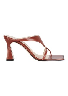Wandler Feline Leather Thong Sandals