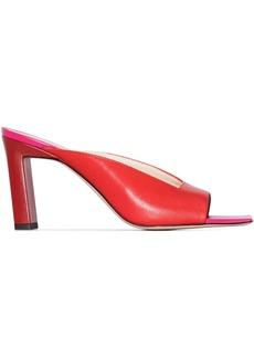 Wandler Isa 85mm lambskin sandals
