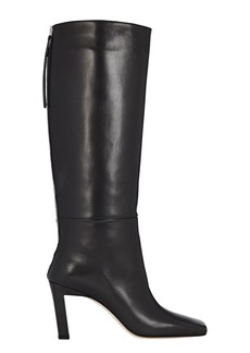 Wandler Isa Knee-High Leather Boots