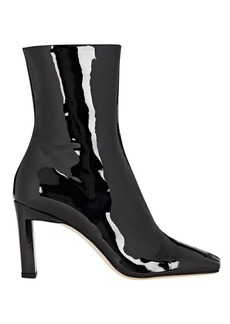 Wandler Isa Patent Leather Ankle Boots