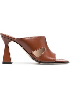 Wandler Marie leather mules