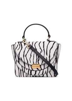 Wandler mini Luna zebra print bag