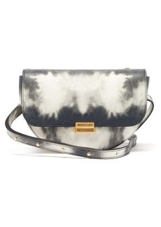 Wandler Anna small tie-dye leather belt bag