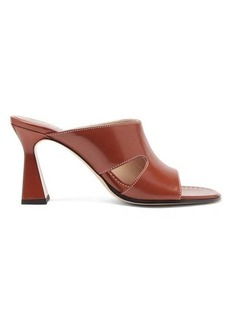 Wandler Marie cutout leather mules