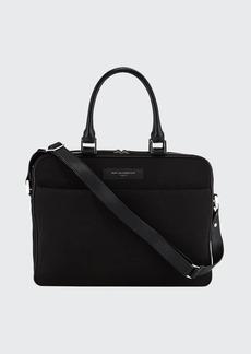 WANT Les Essentiels de la Vie Men's Haneda Slim Canvas Briefcase Bag