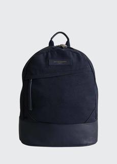 WANT Les Essentiels de la Vie Men's KSTRP Leather-Trim Backpack
