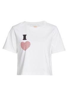 Warm I Heart Tomboy T-Shirt