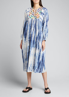 Warm Casa Multi-Print Midi Dress