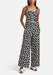 Warm Women's Jessie Floral Cotton Jumpsuit