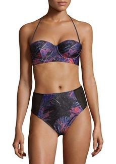 We Are Handsome Two-Piece Tropical Designed Bikini