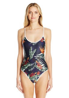 We Are Handsome Women's String Scoop One-Piece Swimsuit