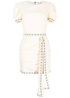 We Are Kindred Allegra tie-front mini dress