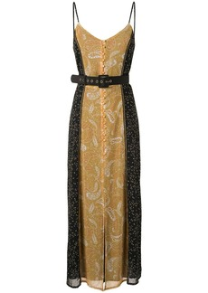 We Are Kindred Amalfi belted maxi dress