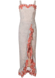 We Are Kindred Argentina ruffle maxi dress