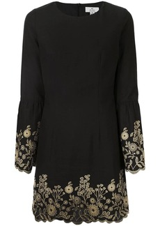 We Are Kindred Bonnie floral-embroidered shift dress