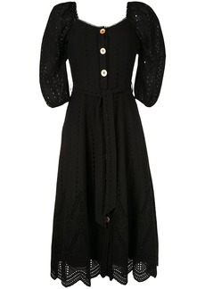 We Are Kindred broderie anglaise flared dress
