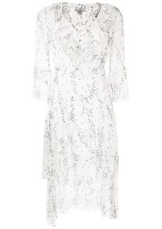 We Are Kindred Elle floral-print flounce dress