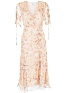 We Are Kindred Gisela Daisy-print wrap dress