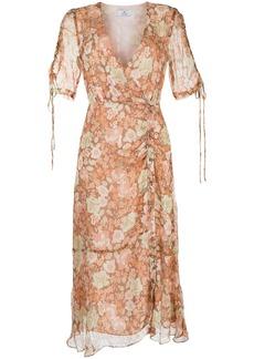 We Are Kindred Gisela floral-print wrap dress