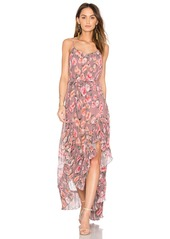 We Are Kindred Maggie Pleat Maxi Dress