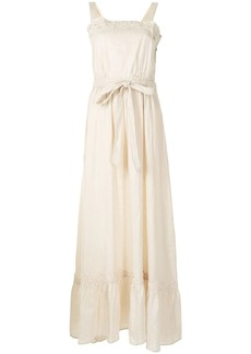 We Are Kindred Marly floral embroidery linen dress