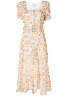 We Are Kindred Marly floral-print linen dress