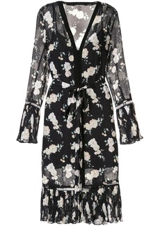 We Are Kindred Mia floral midi dress