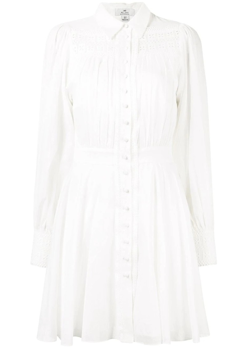 Sorrento mini shirt dress