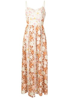 We Are Kindred Stevie floral-print linen dress