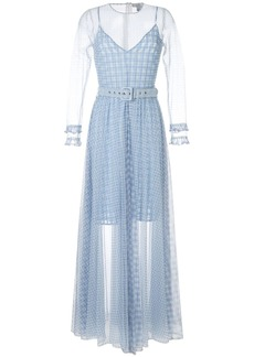 We Are Kindred Valencia gingham print maxi dress