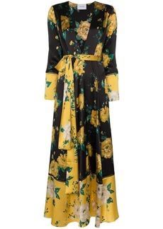 We Are Leone floral print maxi cardigan