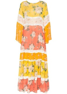 We Are Leone floral print maxi dress