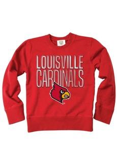Wes & Willy Louisville Cardinals Crewneck Sweatshirt, Big Boys (8-20)