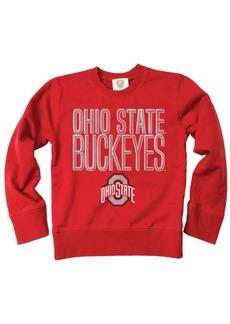 Wes & Willy Ohio State Buckeyes Crew Neck Sweatshirt, Toddler Boys (2T-4T)