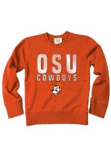 Wes & Willy Oklahoma State Cowboys Crewneck Sweatshirt, Big Boys (8-20)