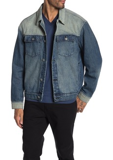 WESC Colorblock Denim Jacket