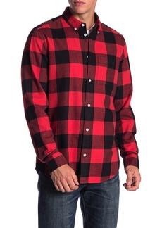 WESC Flannel Button Shirt