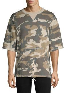 WESC Madison Camouflage Crewneck Sweatshirt